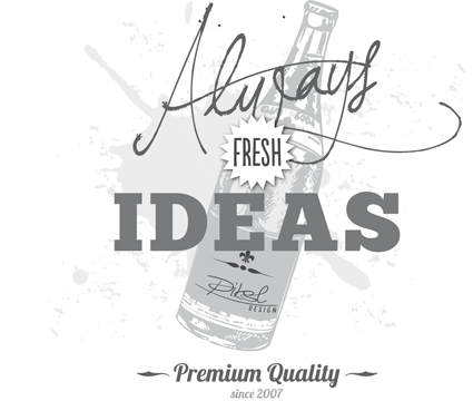 Aleays fresh ideas from piksl design - since 2007